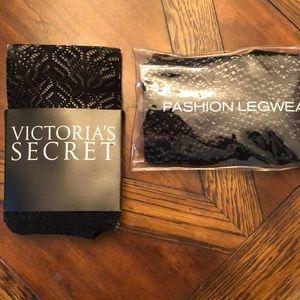 NEW! Bundle of 2 Victoria's Secret leg wear